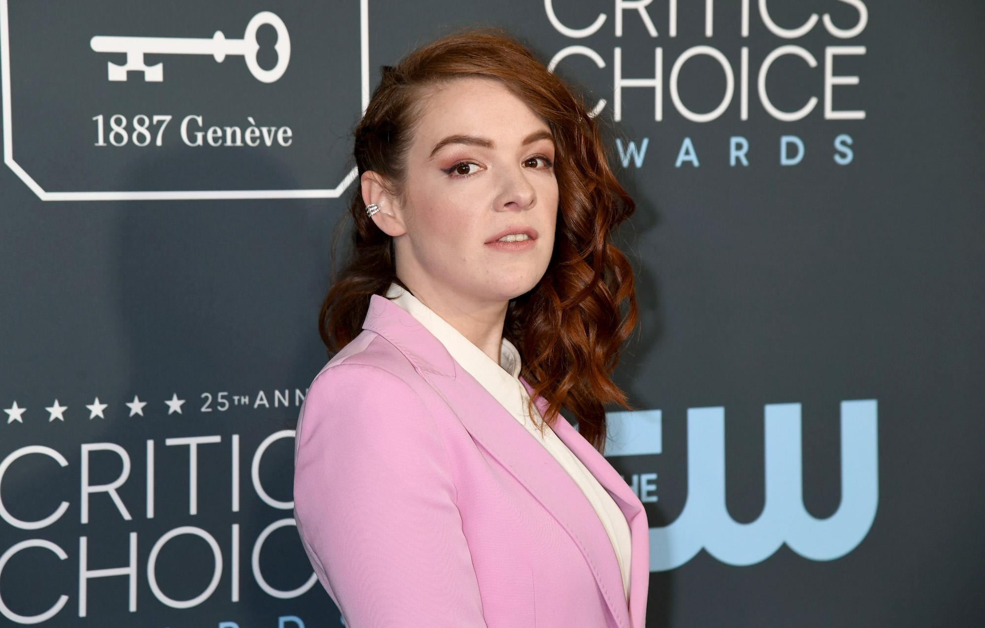 Noelle Stevenson at the 25th Annual Critics' Choice Awards on Jan. 12, 2020.