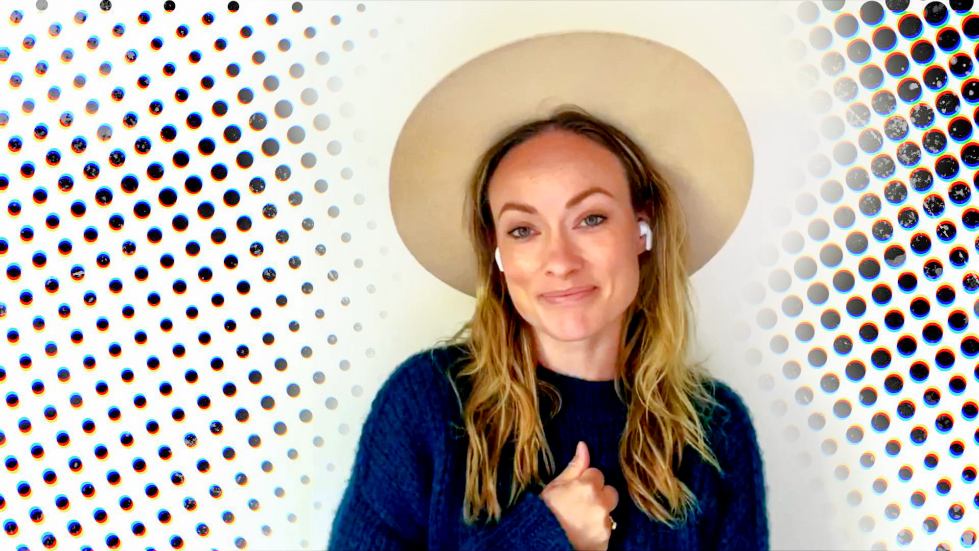 Olivia Wilde speaks during Graduate Together: America Honors the High School Class of 2020 on May 16, 2020