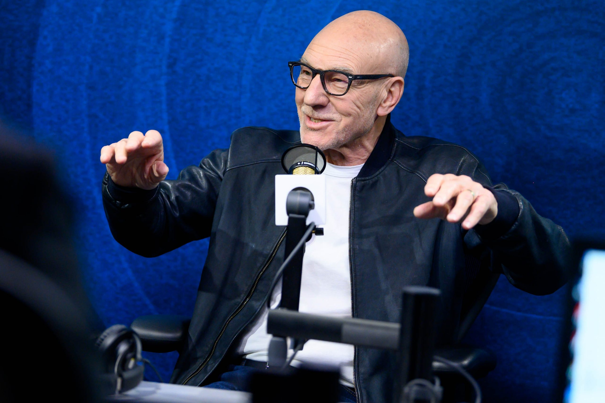 Patrick Stewart of Star Trek: Picard