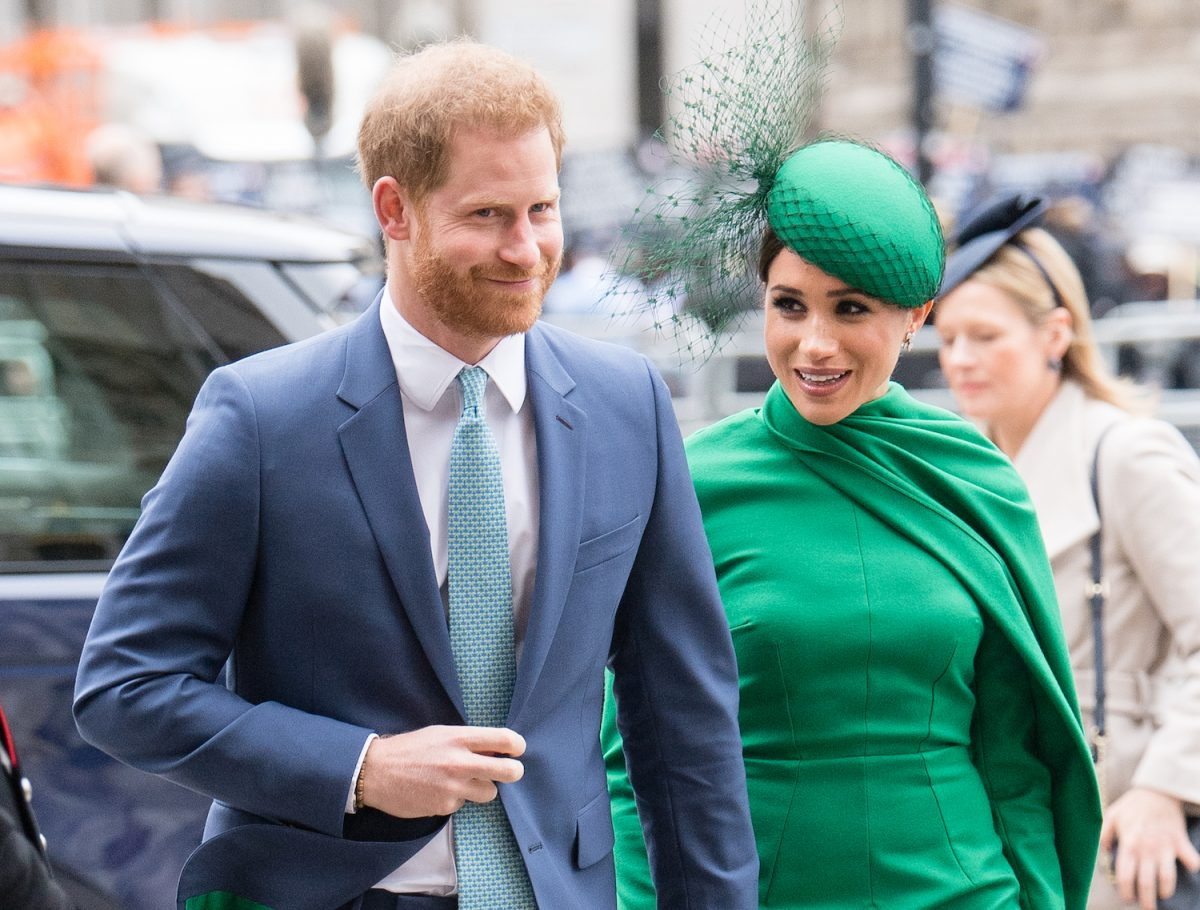 Prince Harry and Meghan Markle attends the Commonwealth Day Service 2020 on March 09, 2020