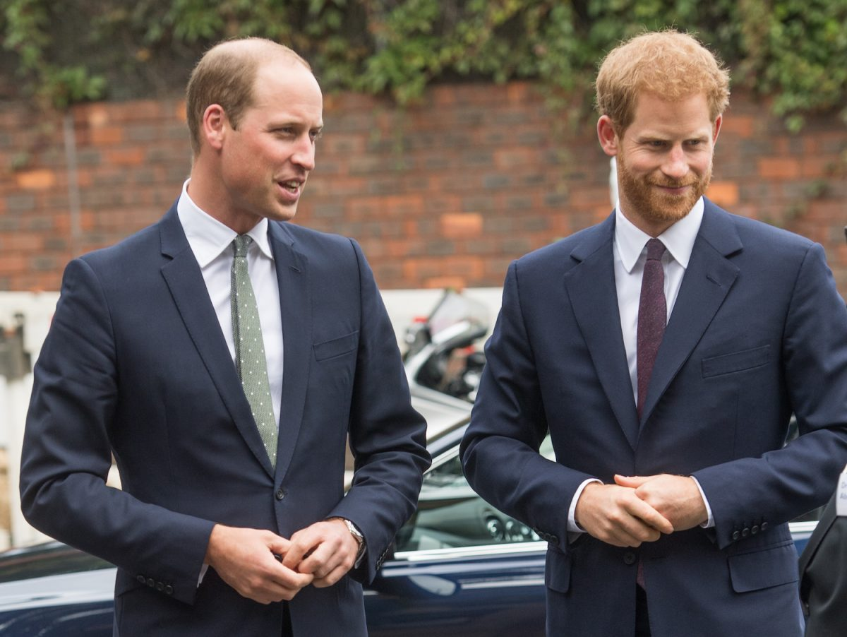 Prince William and Prince Harry visit the Royal Foundation Support4Grenfell community hub on September 5, 2017