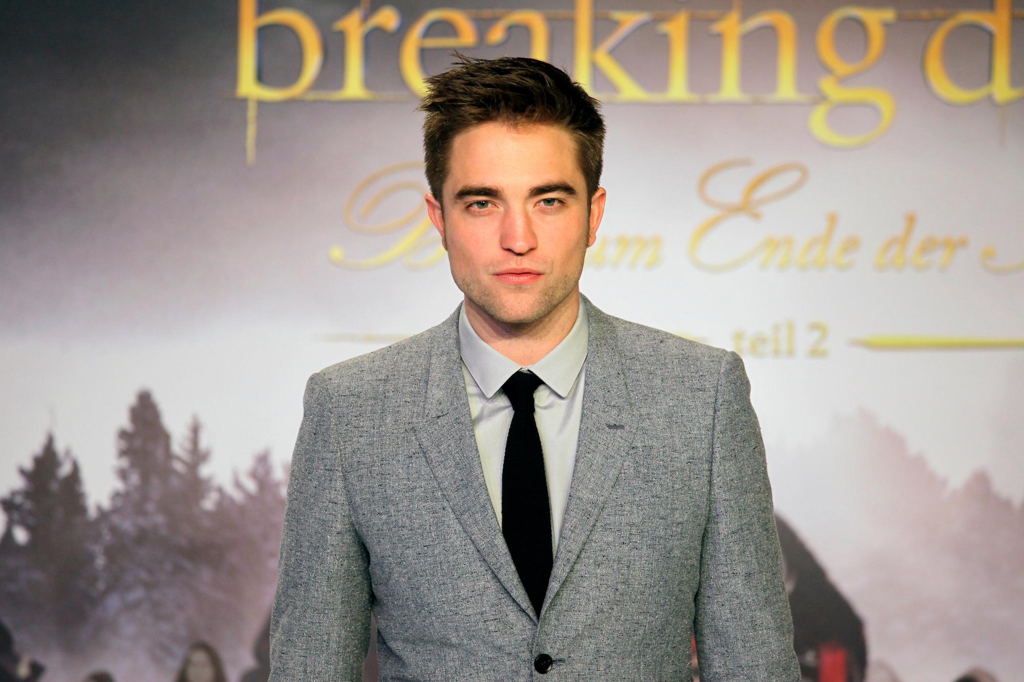 Robert Pattinson at the European premiere for 'Twilight Saga: Breaking Dawn Part 2'