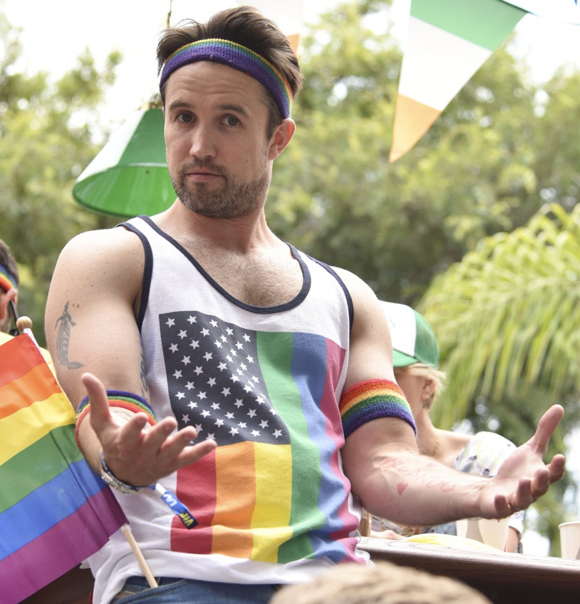 Rob McElhenney at the LA PRIDE Music Festival And Parade in 2016