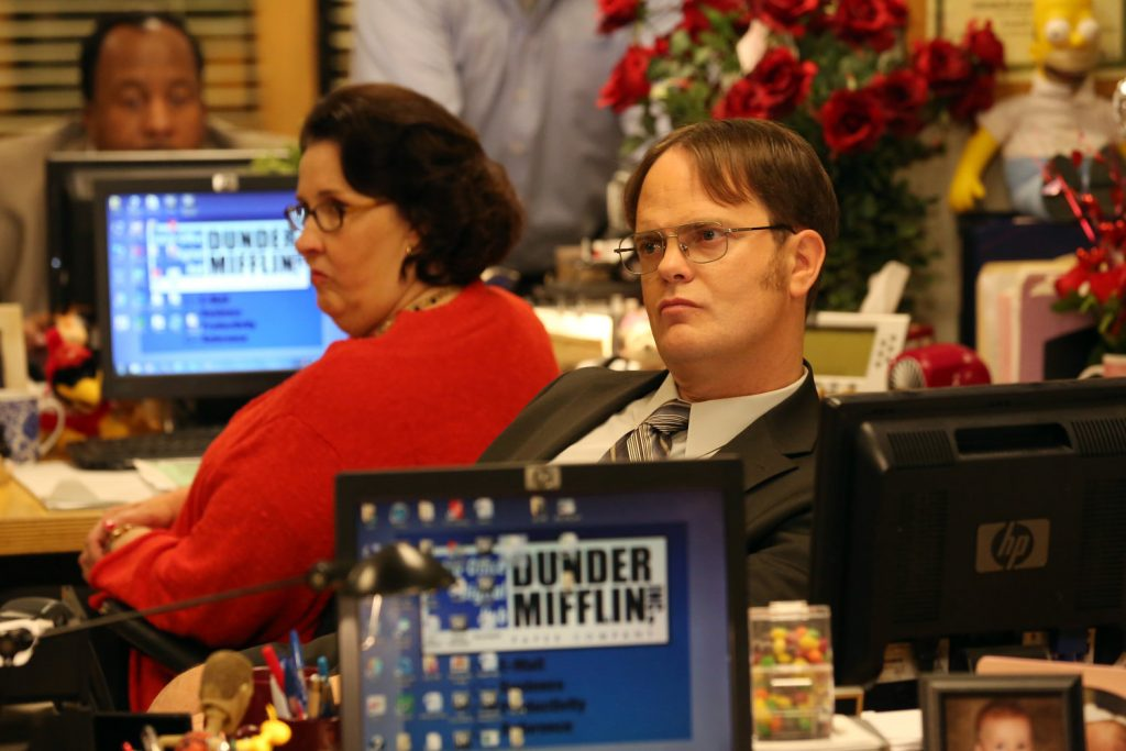 Rainn Wilson as Dwight in 'The Office'