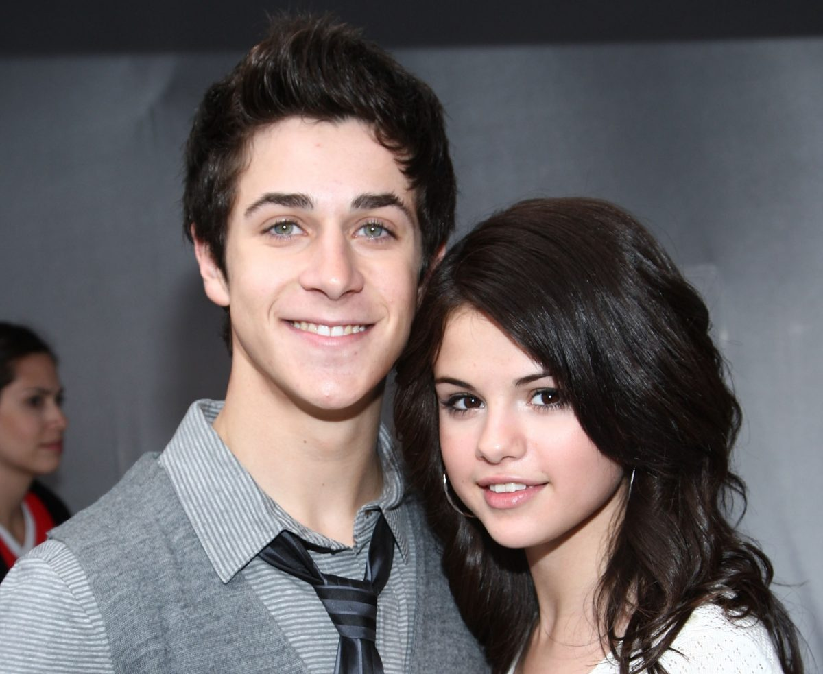 David Henrie and Selena Gomez attend Variety's Power of Youth event on October 4, 2008 in Los Angeles, California.