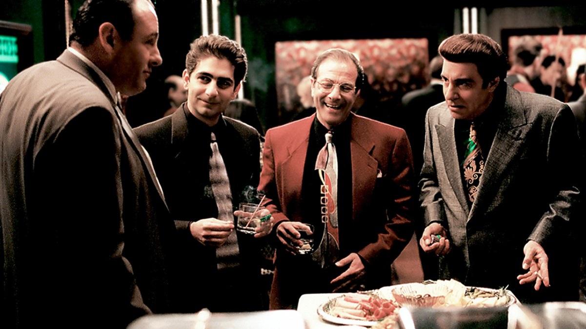 Dan Grimaldi and 'Sopranos' co-stars