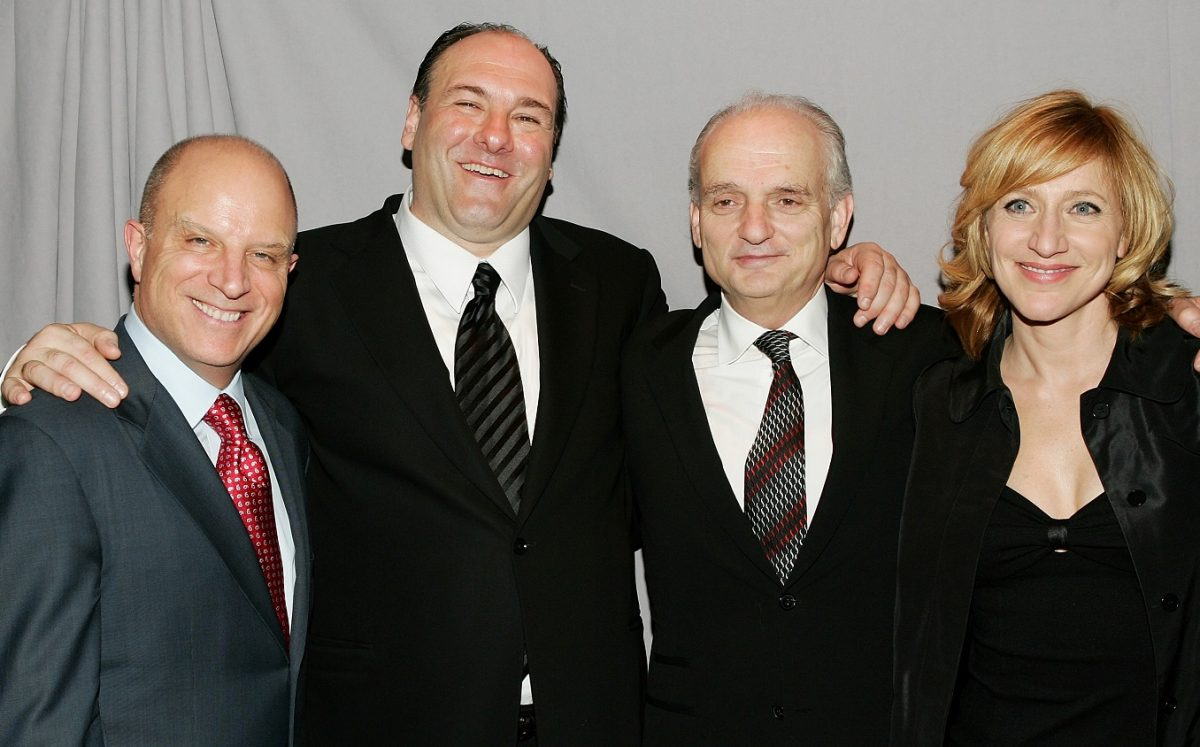 'Sopranos' producers and lead actors