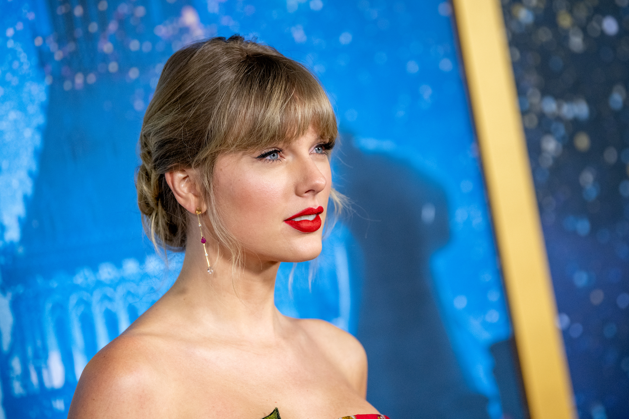 Taylor Swift at the 'Cats' World Premiere at Alice Tully Hall, Lincoln Center on December 16, 2019.