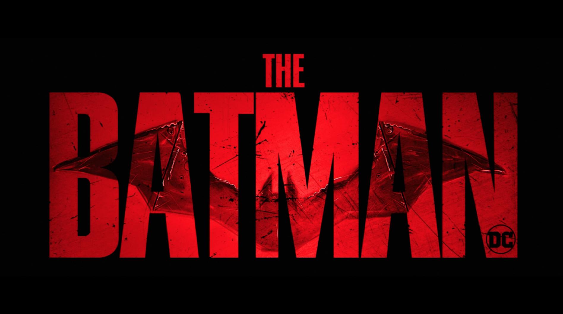 The new 'The Batman' logo from DC FanDome