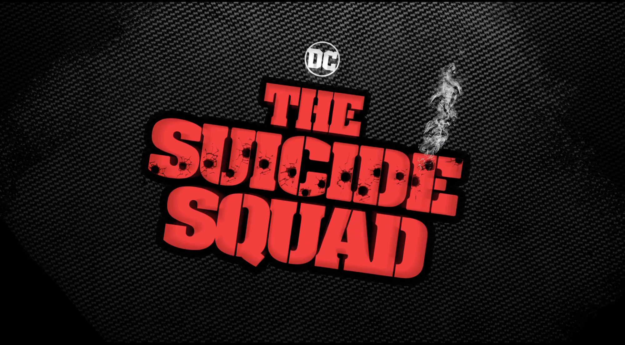 The new 'The Suicide Squad' logo revealed at DC FanDome.