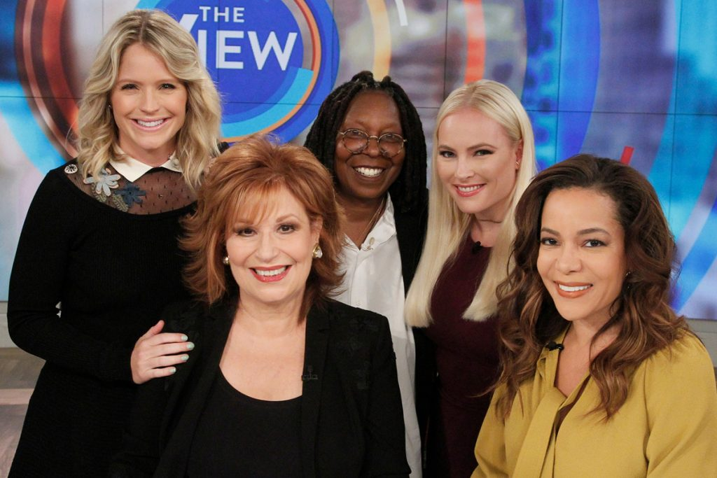 The cast of 'The View'