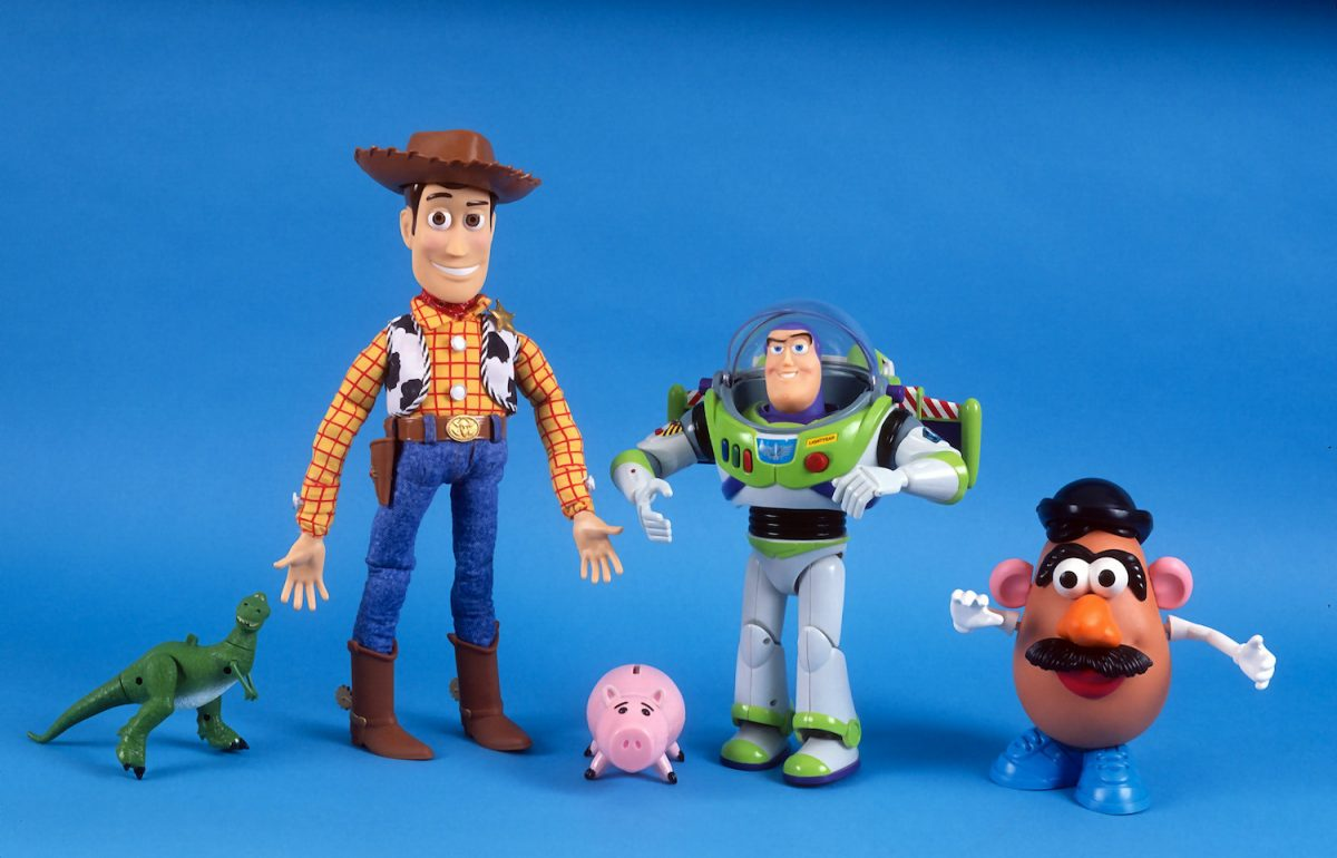 Toys from 'Toy Story'