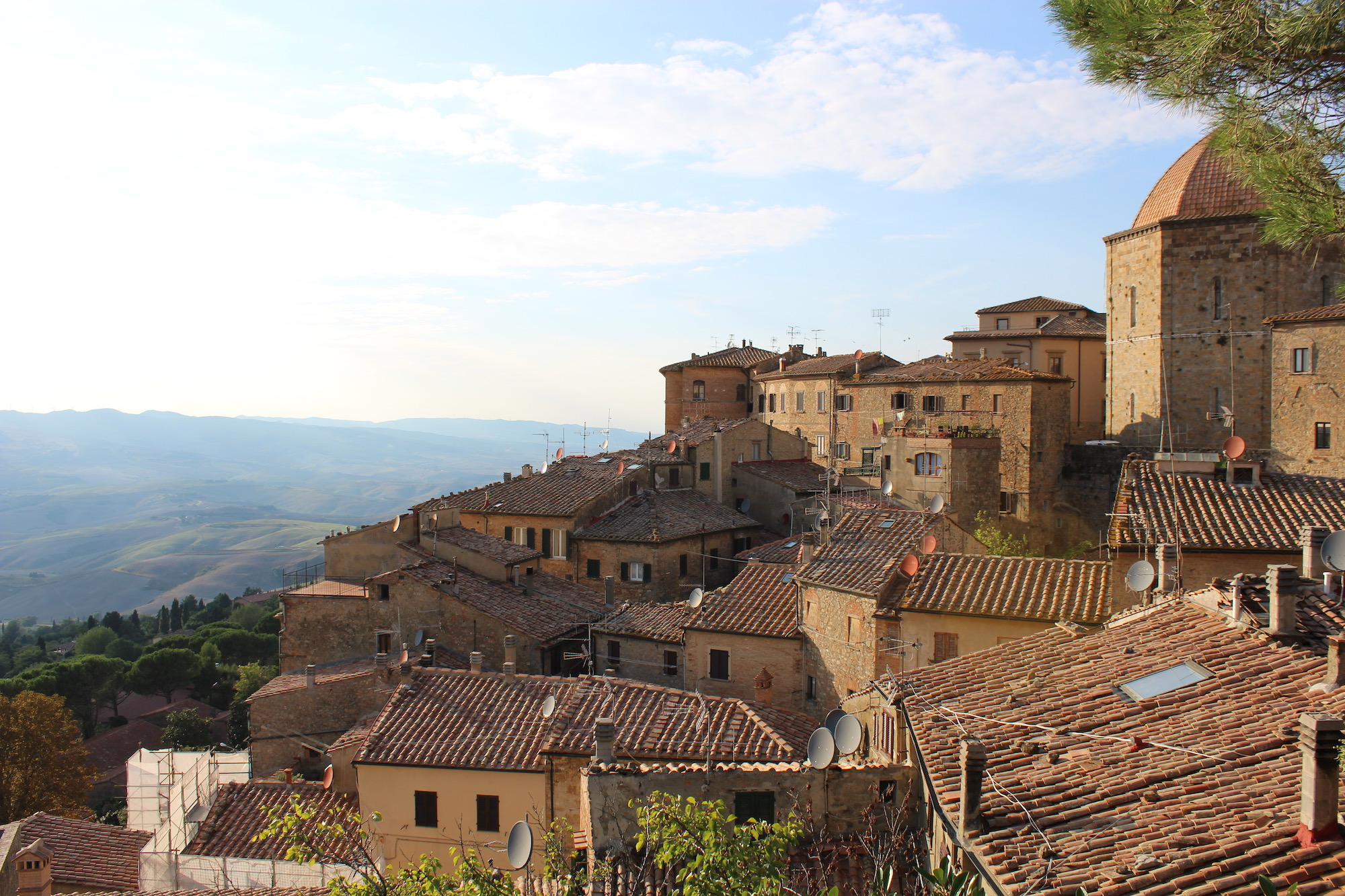 Volterra, Italy, a spot from 'New Moon,' the second book in the 'Twilight' saga.