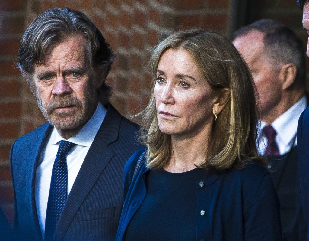 William H Macy and Felicty Huffman