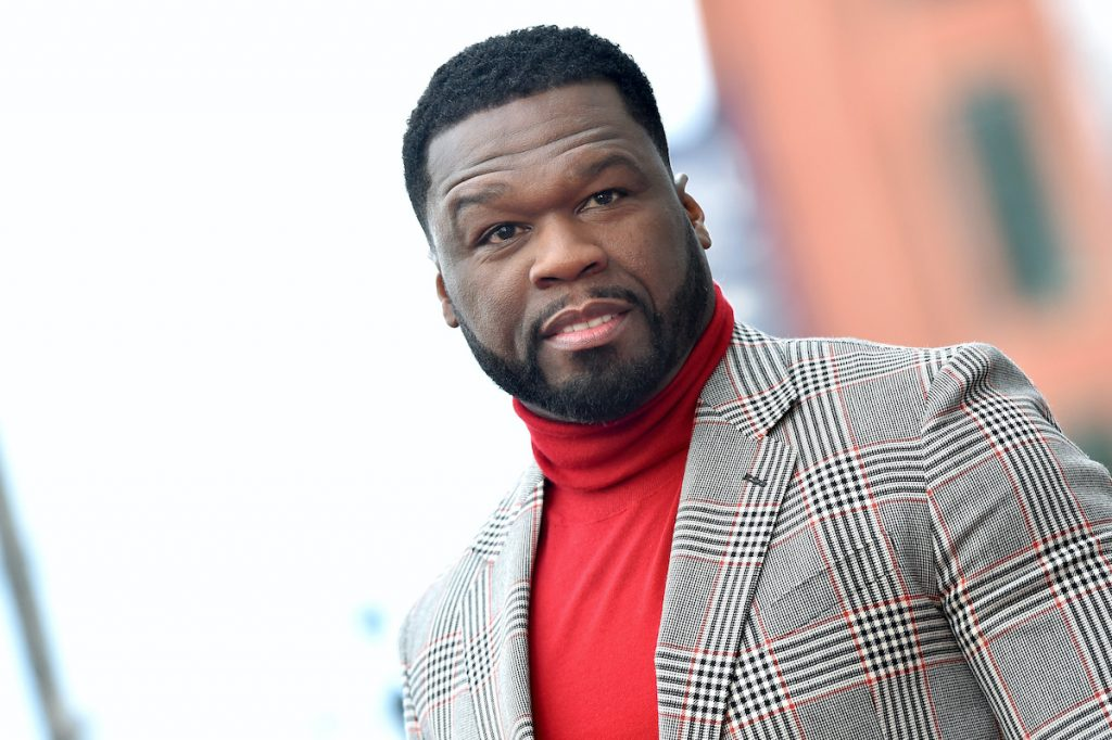 "Curtis ""50 Cent"" Jackson is honored with a Star on the Hollywood Walk of Fame on January 30, 2020 in Hollywood, California 