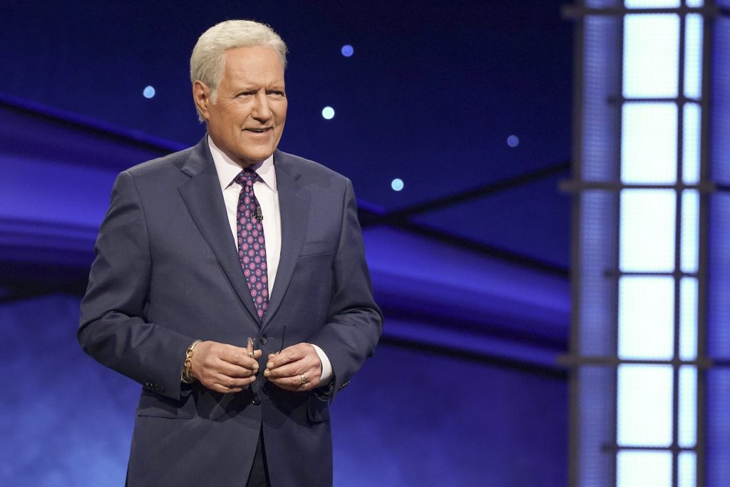 Alex Trebek on 'Jeopardy!' The Greatest of All Time tournament