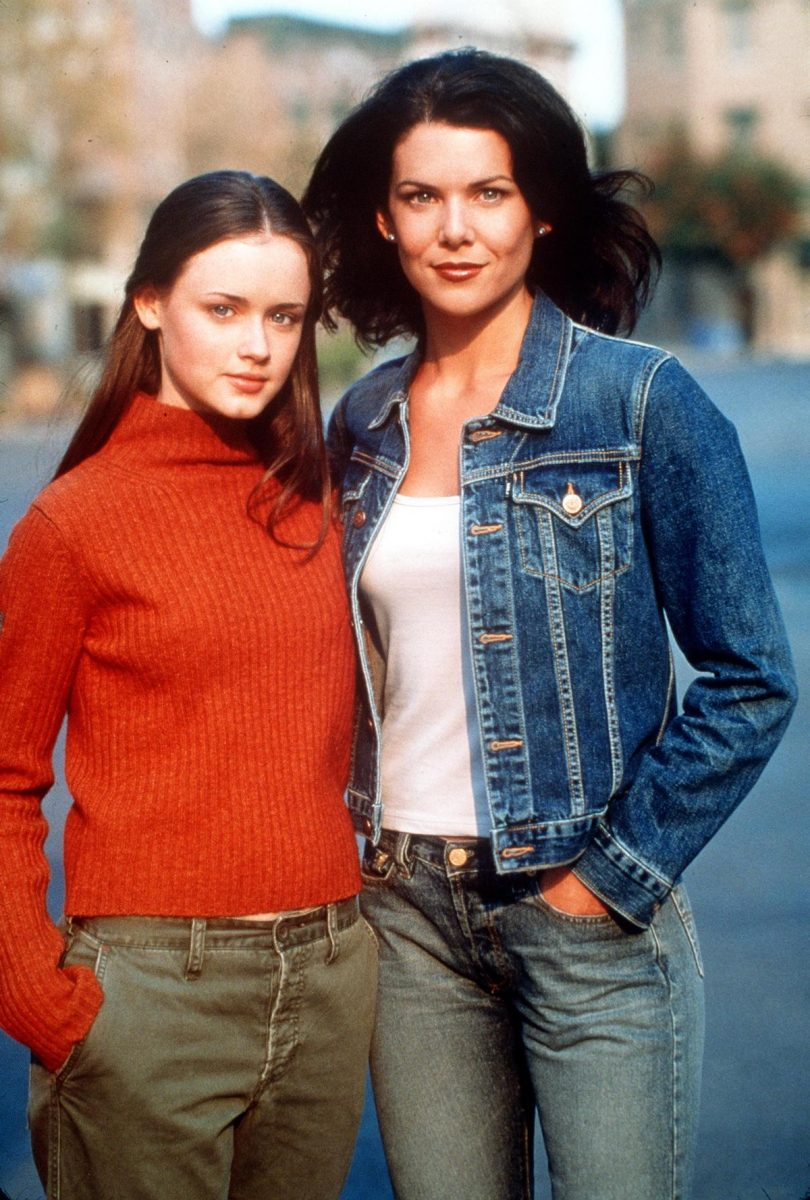 Alexis Bledel and Lauren Graham as Rory and Lorelai Gilmore from 'Gilmore Girls'