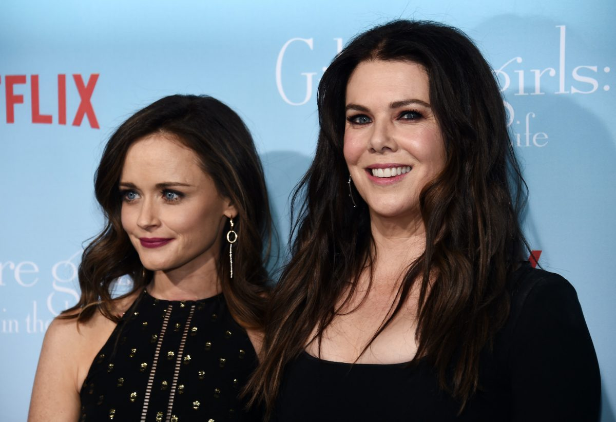Alexis Bledel and Lauren Graham at the premiere of 'Gilmore Girls A Year in the Life'