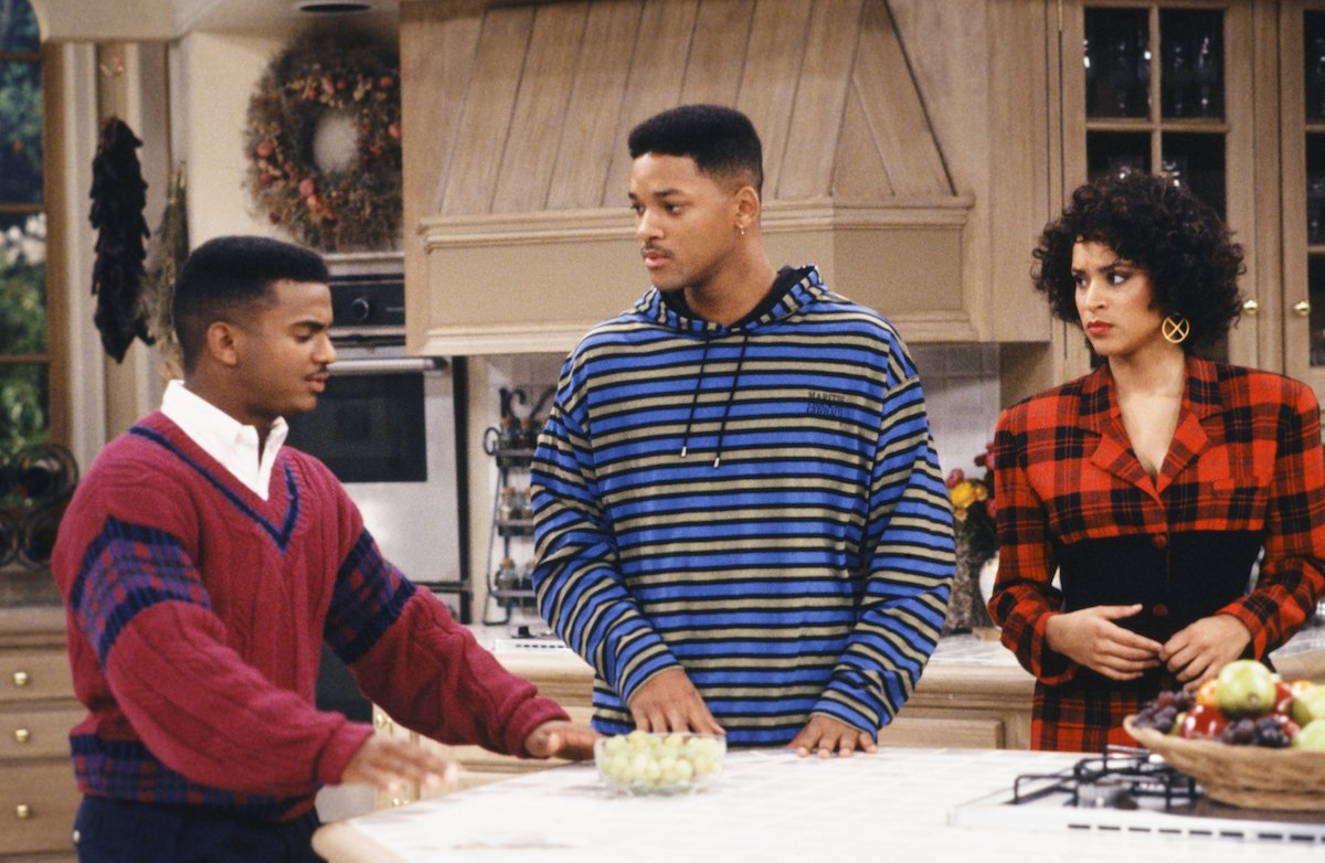 Alfonso Ribeiro, Will Smith, and Karyn Parsons on 'The Fresh Prince of Bel-Air'