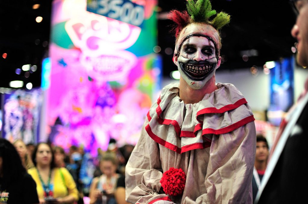 Twisty the Clown from 'American Horror Story' at Comic Con