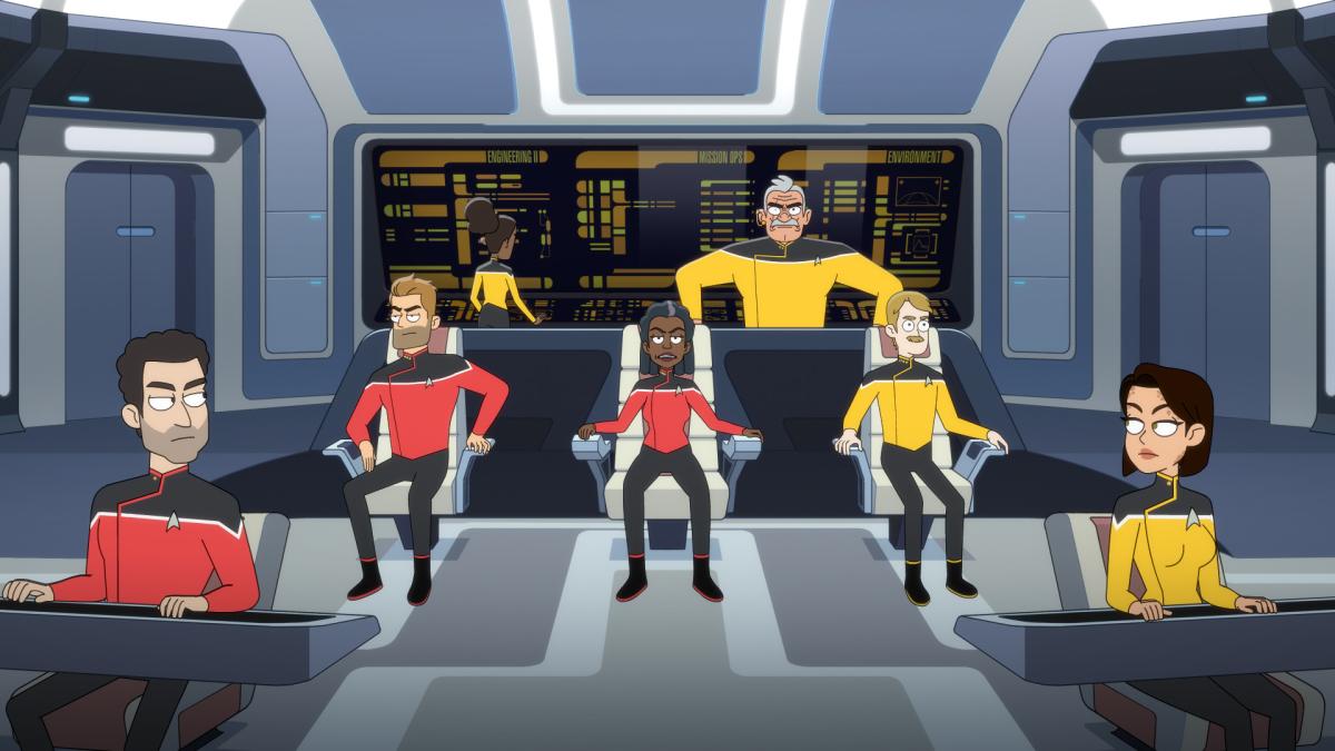 Animated Star Trek Lower Decks