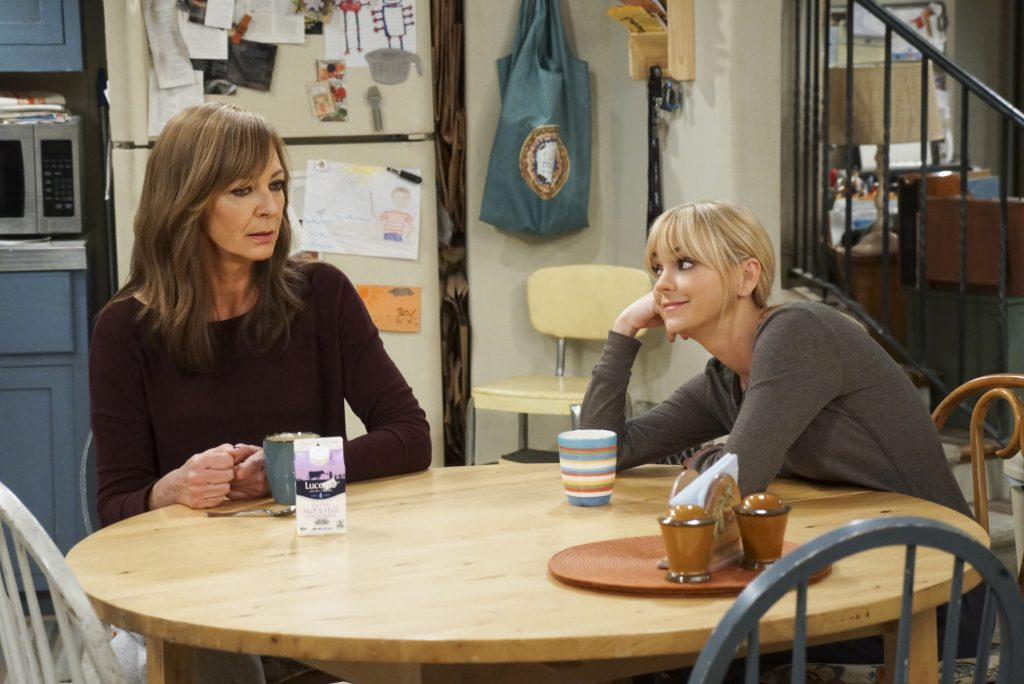 Allison Janney as Bonnie and Anna Faris as Christy on 'Mom'   Monty Brinton/CBS via Getty Images