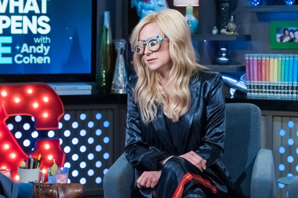 Anna Faris on 'Watch What Happens Live with Andy Cohen'   Charles Sykes/Bravo/NBCU Photo Bank/NBCUniversal via Getty Images