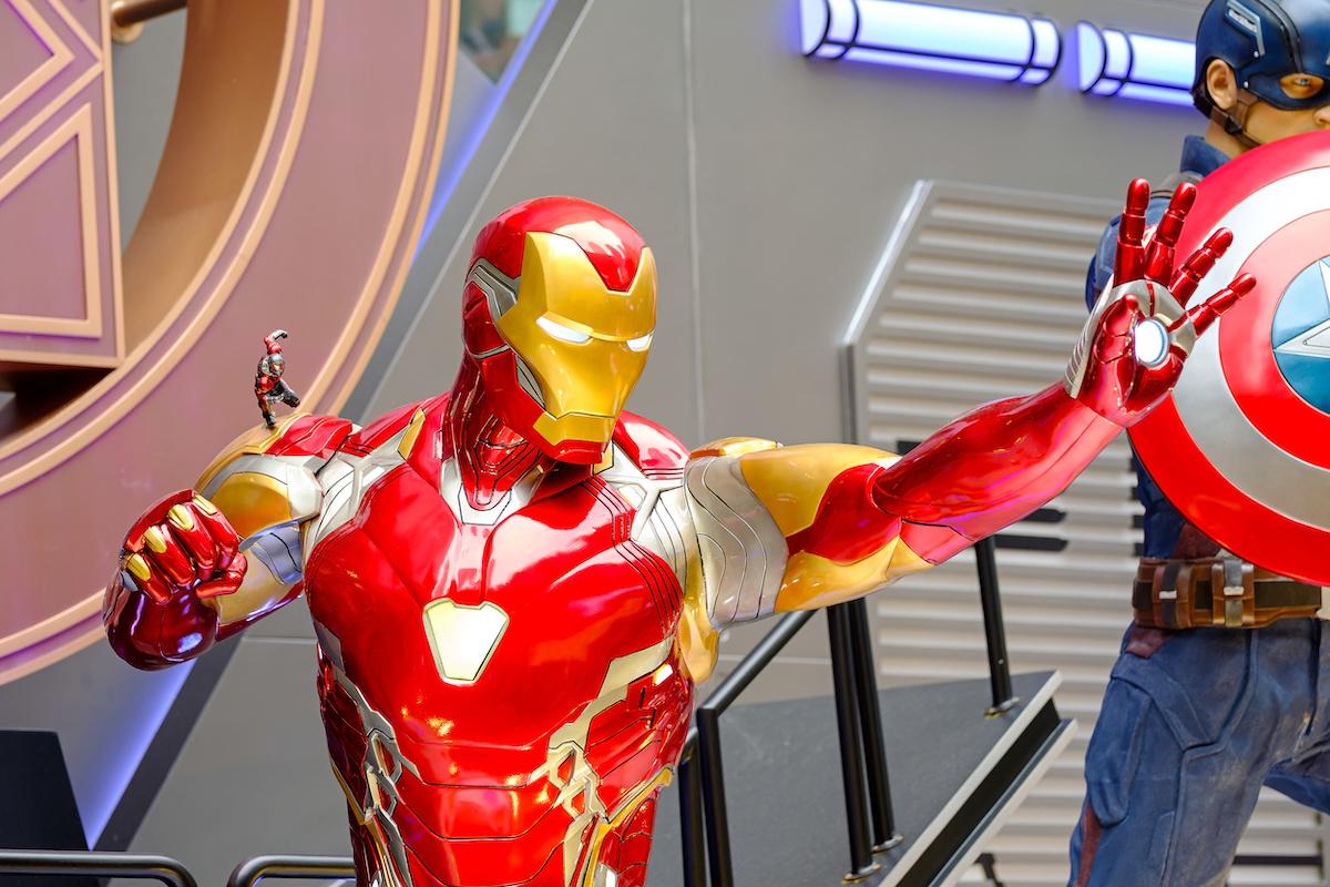 'Avengers: Endgame' character models in Hong Kong