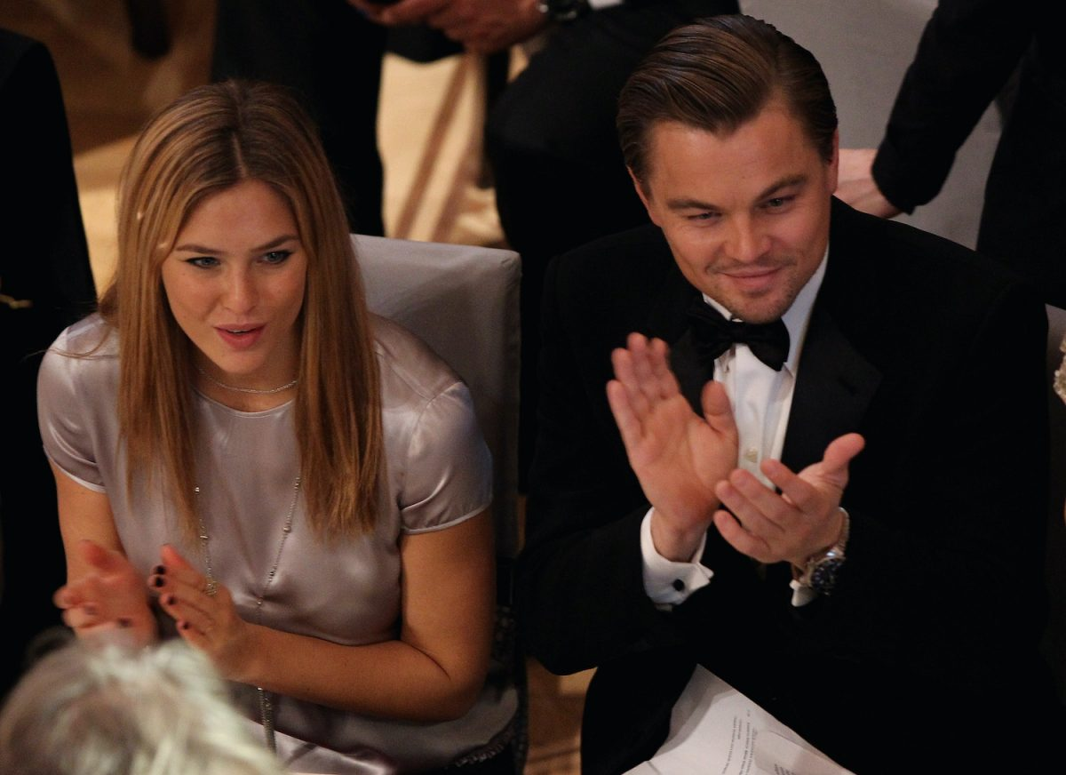 Bar Refaeli and Leonardo DiCaprio at the 2010 Berlin Film Festival