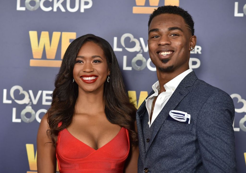 """Reality television stars Chris """"Swaggy C"""" Williams and Bayleigh Dayton"""