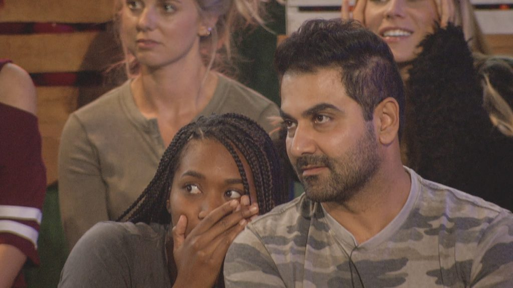 Bayleigh Dayton and Kaysar Ridha on 'Big Brother' season 22