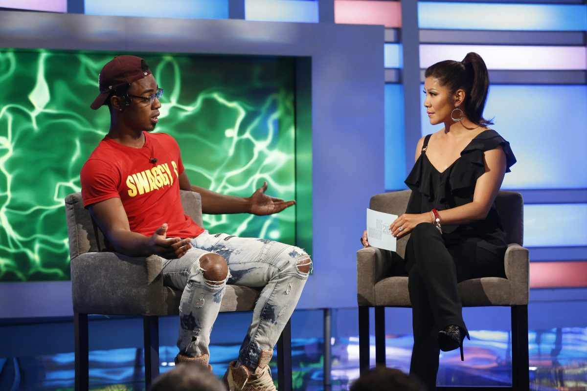 Host Julie Chen interviews Chris Williams, the second houseguest to be evicted from the Big Brother house