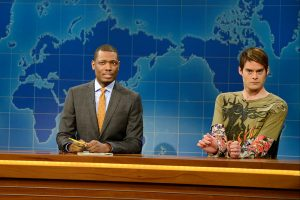 Why 'SNL' Cast Member Bill Hader Had to Be 'Consoled' Before Going Onstage for 'Weekend Update'