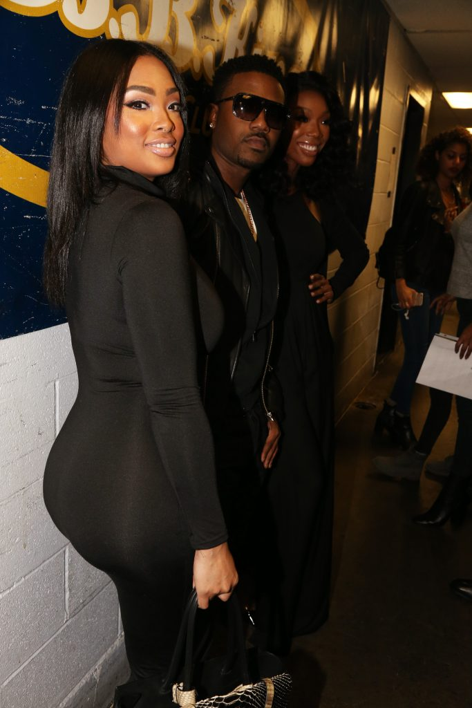 Princess Love, Ray J and Brandy in 2015