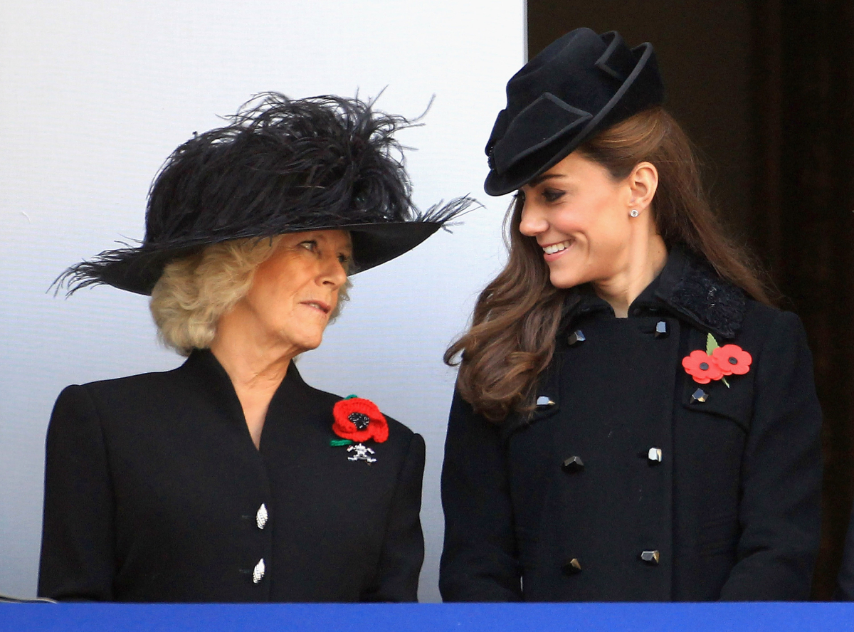 Camilla Parker Bowles Kate Middleton