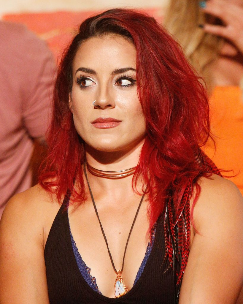 Cara Maria Sorbello on stage during 'The Challenge XXX': Ultimate Fan Experience