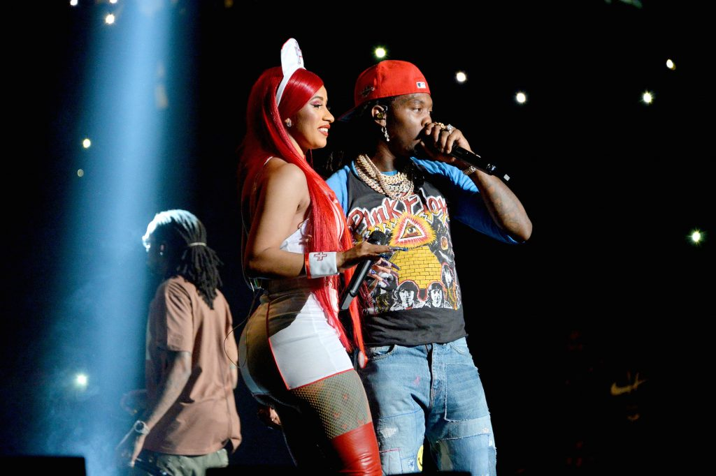 Cardi B and Offset perform onstage during the Power 105.1'S Powerhouse 2019