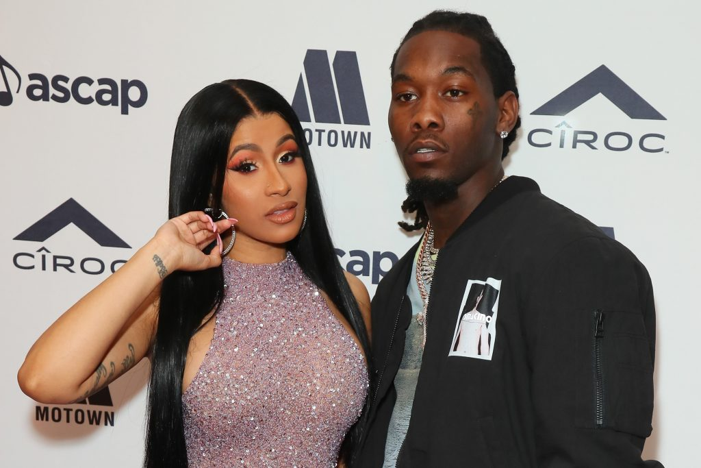 Cardi B & Offset Are Still Living Together Amid Their Divorce