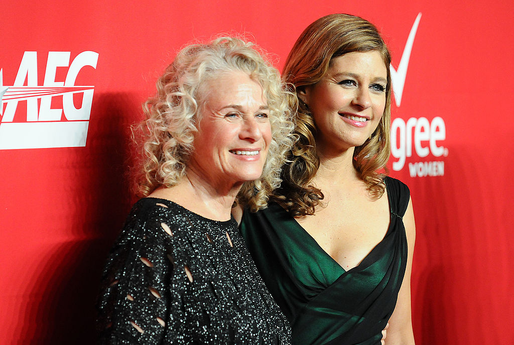 Carole King -- Gilmore Girls theme song writer -- and daughter