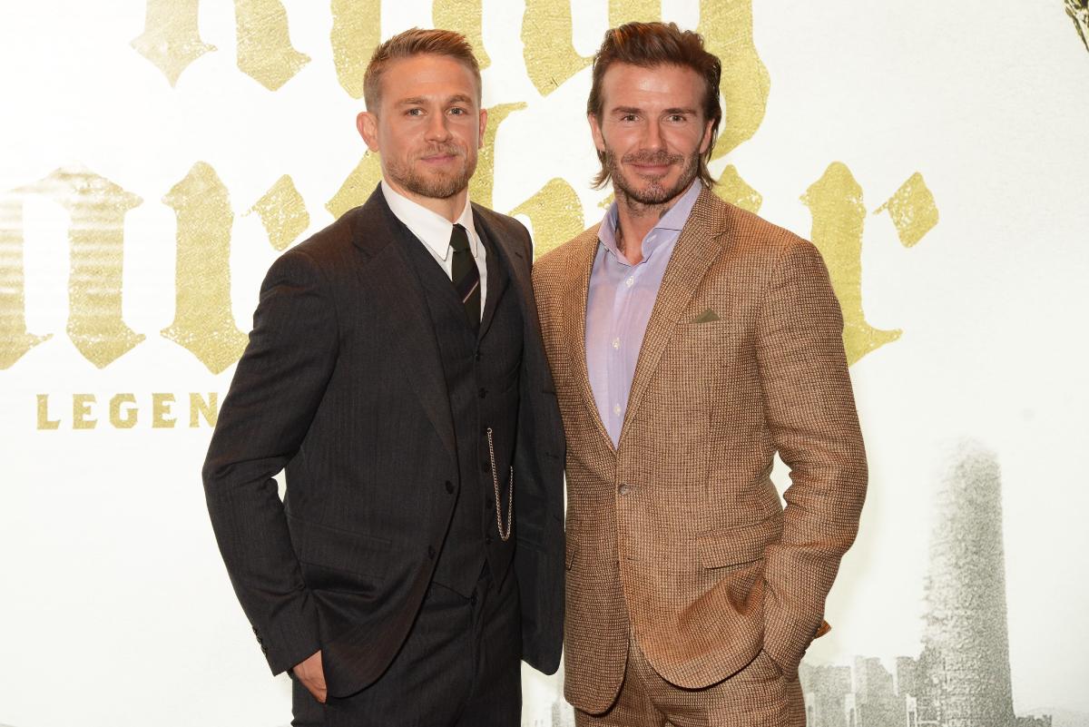 Charlie Hunnam David Beckham
