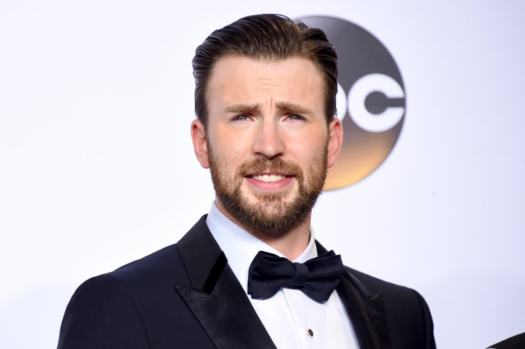 Chris Evans at an event