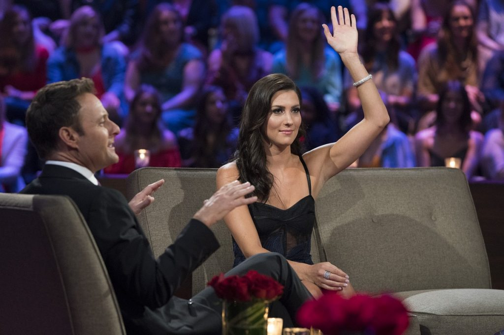 'The Bachelorette' with Becca Kufrin and host Chris Harrison