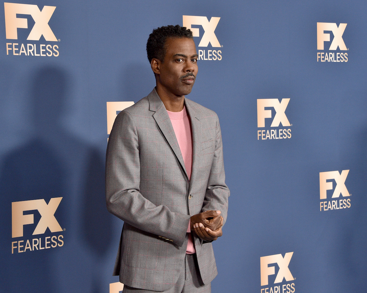 Chris Rock at the FX Networks' Star Walk Winter Press Tour 2020