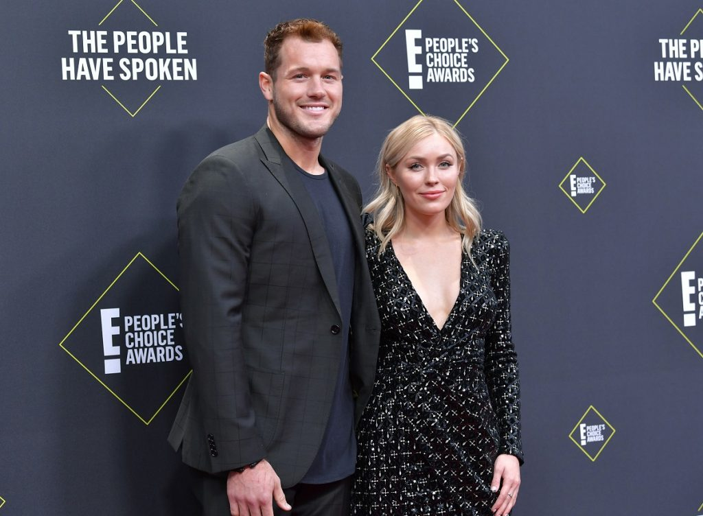 'The Bachelor' couple Colton Underwood and Cassie Randolph