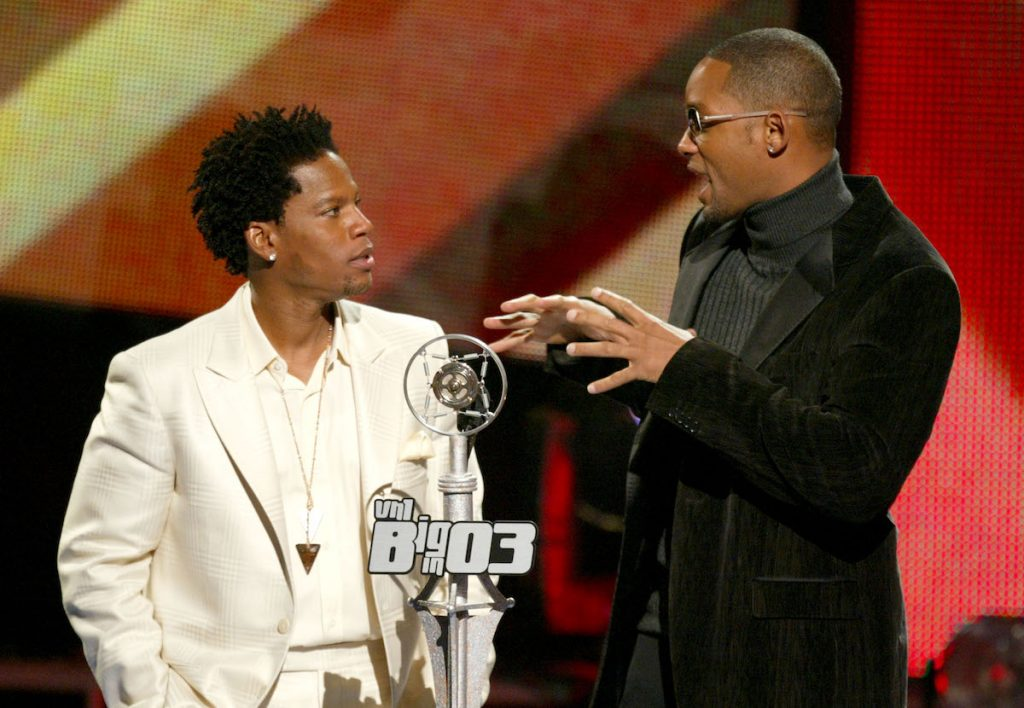 D.L. Hughley and Will Smith