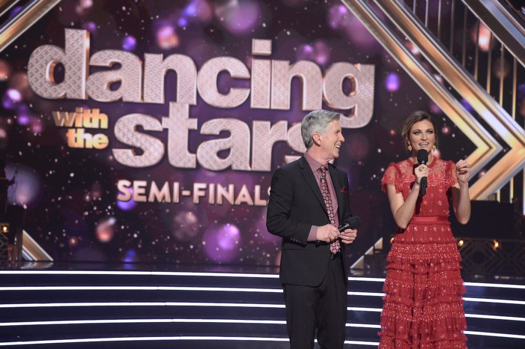 Tom Bergeron and Erin Andrews in 'Dancing with the Stars'