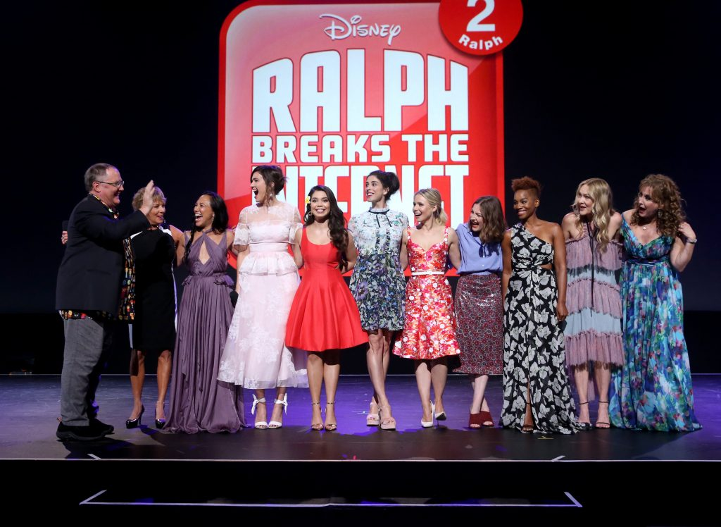 The voices of the Disney Princesses, featured in 'Ralph Breaks the Internet'
