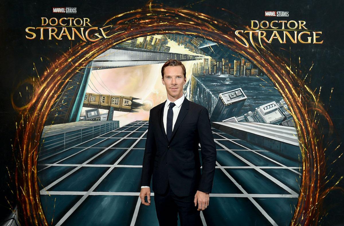 Benedict Cumberbatch at a fan screening of 'Doctor Strange'