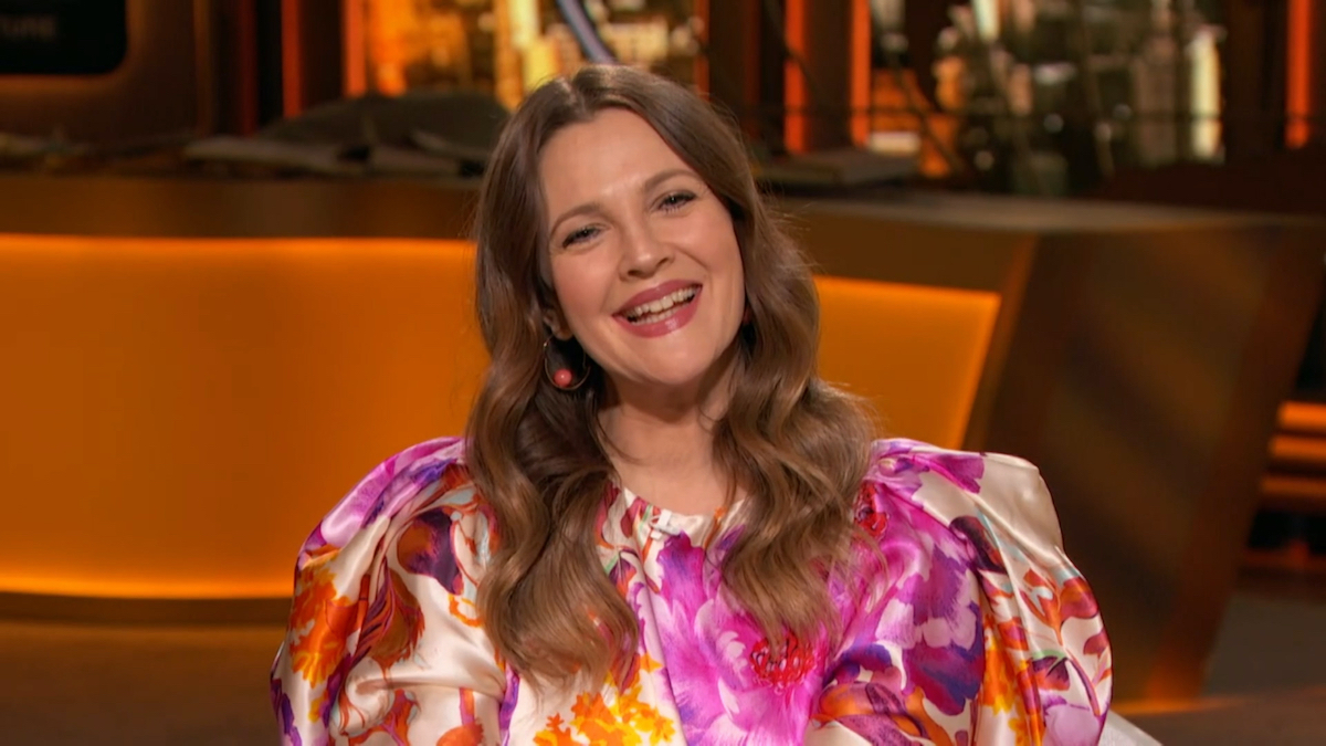 Drew Barrymore on 'Watch What Happens Live with Andy Cohen'