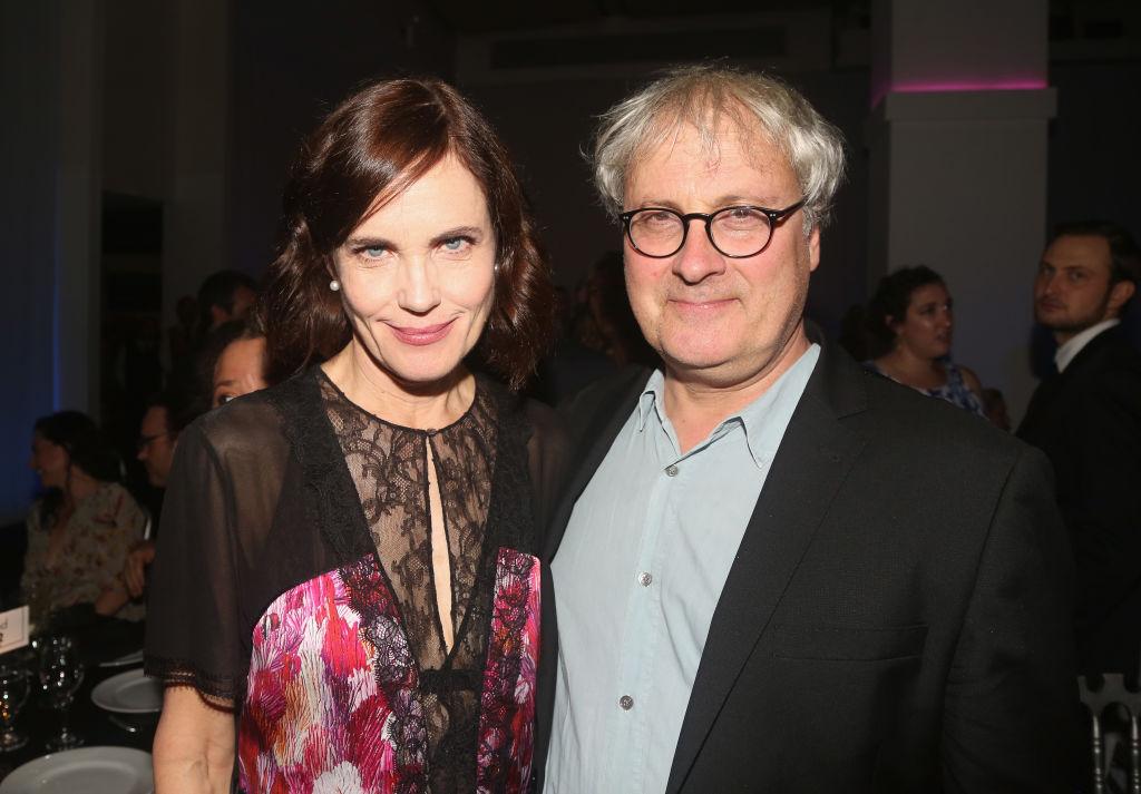 Elizabeth McGovern and husband Simon Curtis